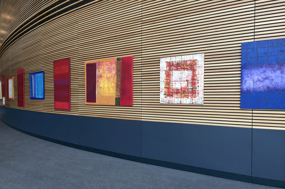 Membrane Art exhibition: Adelaide Convention Centre, 2014